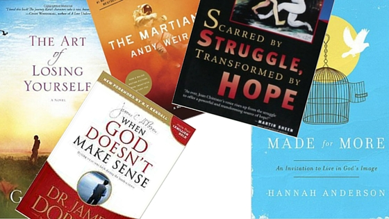 books for grief, canva, books