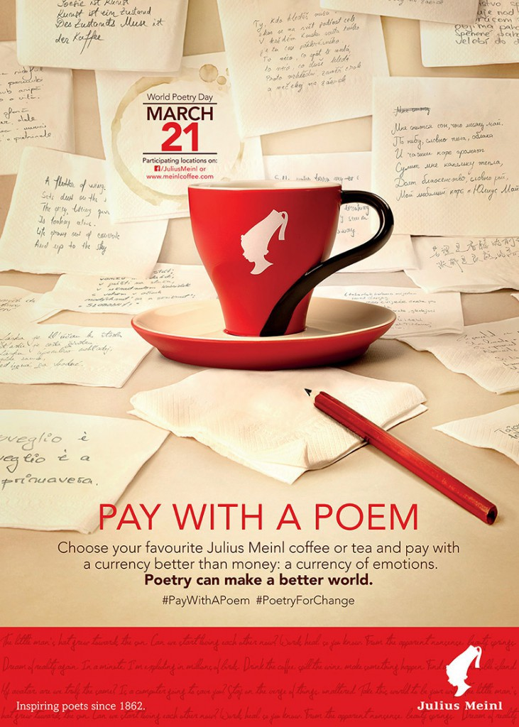 Vienna: Pay with a Poem