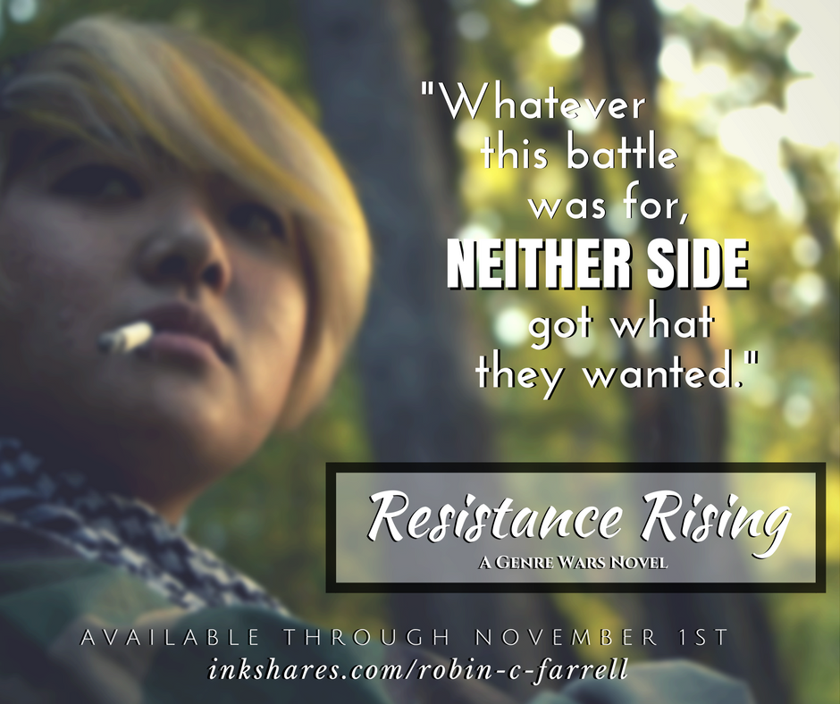 Resistance Rising by Robin C. Farrell