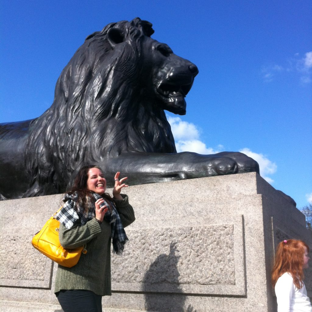 Connecting With Family While Traveling: The Stone Lion