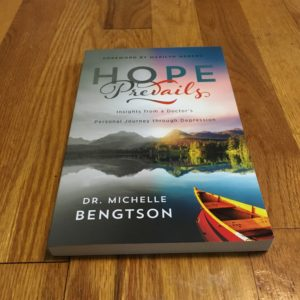 Book Recommendation (and Giveaway): Hope Prevails by Dr. Michelle Bengtson