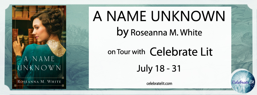 Book Recommendation: A Name Unknown By Roseanna M. White banner