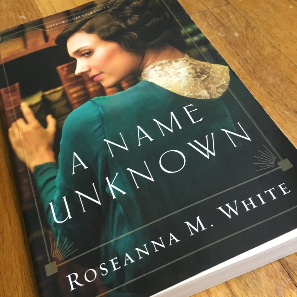 Book Recommendation Review of A Name Unknown by Roseanna M. White