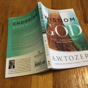 Book Review: The Wisdom of God by A.W. Tozer