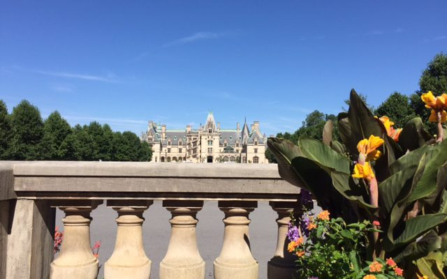 view of the Biltmore House