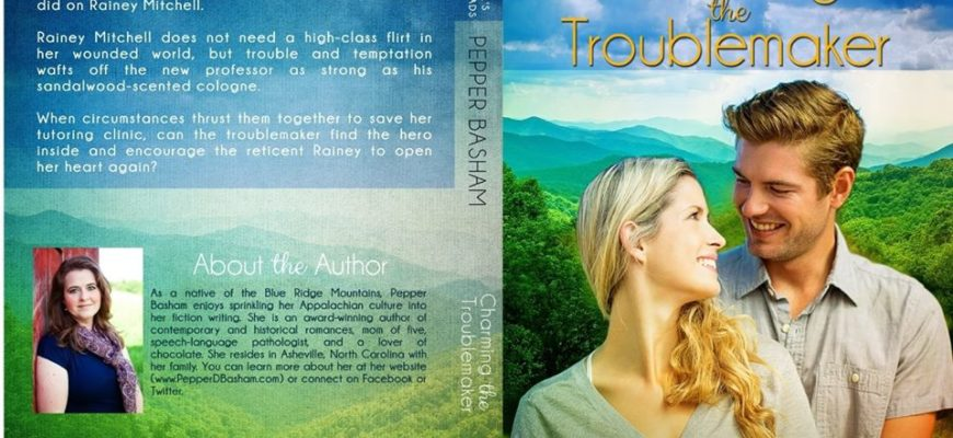Cover Reveal: Charming the Troublemaker by Pepper Basham