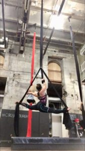 Aerial Silks' Lessons on Living: Holding On and Letting Go